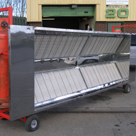 4 x 12 Kw Mobile - Off Shore Pipe Drying